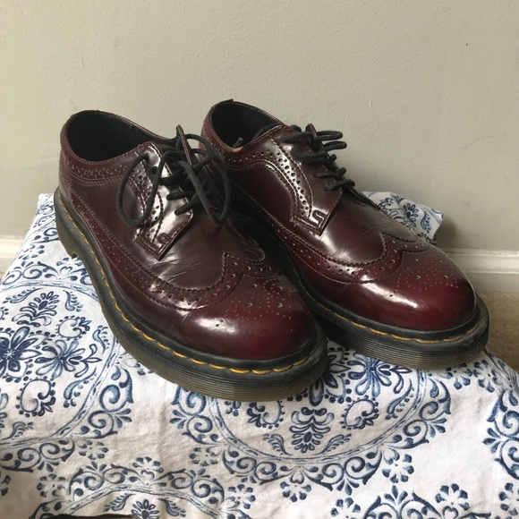 2c573dd71e8a Dr. Martens Shoes | Vegan 3989 Dr Martens In Cherry Red | Poshmark